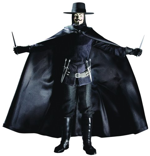 V For Vendetta - Deluxe 13 Inch Collector Figure: V