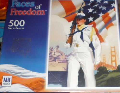 Faces of Freedom 500 Piece Puzzle - 1