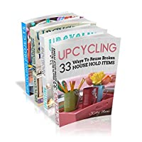 Upcycling Crafts Boxset Vol 1: The Top 4 Best Selling Upcycling Books With 197 Crafts! by Kitty Moore ebook deal