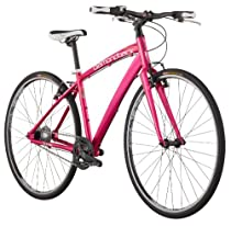 Diamondback 2013 Clarity STI-8 Performance Hybrid Bike with 700c Wheels  (Pink, 15-Inch/Small)