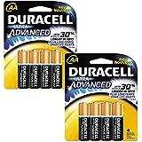 Duracell� MX1500B4Z Ultra Advanced Alkaline Batteries, AA, 4/Pack - 8 Total Count