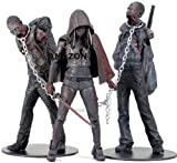 THE WALKING DEAD Figur Bloody B&W Michonne & Pet Zombies 3-Pack