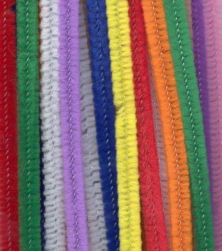 100pk Multi Coloured Pipe Cleaners Ct40654216 0029444287976 By Ci