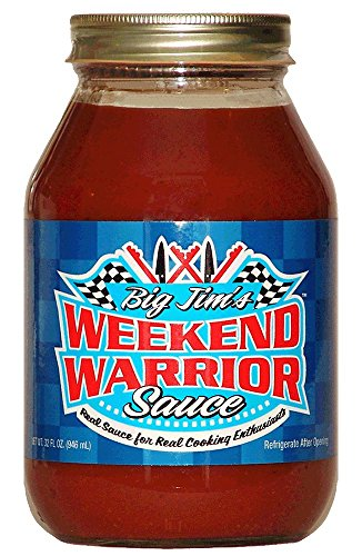 Big Jim'S Weekend Warrior Barbecue Sauce For Cooking And Grilling