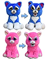 Feisty Pets Freddy Wreckingball the Blue Dog and Lady Monstertruck the Pink Cat Bundle