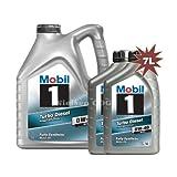 Mobil 1 0w-40 Turbo Diesel Fully Synthetic Engine Oil 149013 1x5L+2x1L = 7L