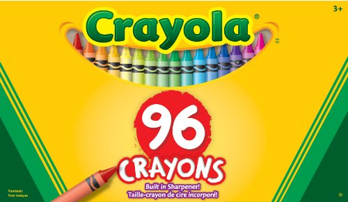 Binney & Smith Crayola(R) Standard Crayon Set, Big Box Of 96
