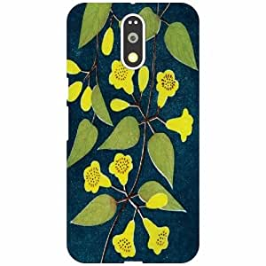 Motorola Moto G4 Plus Back Cover - Flowers Designer Cases