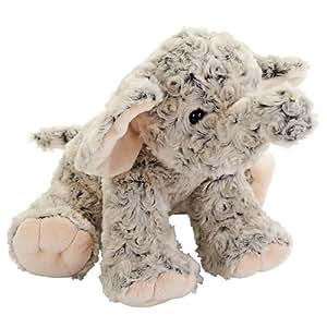 babies r us plush 10 inch two tone elephant
