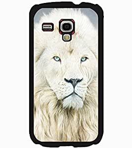 ColourCraft Lion Look Design Back Case Cover for SAMSUNG GALAXY S3 MINI I8190