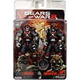 """Gears of War - Locust Drone and Locust Sniper 7"""" Action figure 2 Pack"""