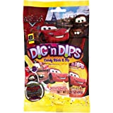 Disney Cars Party Dig N Dips Candy, 8 Per Bag