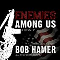 Enemies Among Us: A Thriller Audiobook by Bob Hamer Narrated by Tom Weiner
