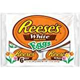 Reese's Easter White Peanut Butter Eggs, 6-Count, 7.2 oz Packages (Pack of 4)
