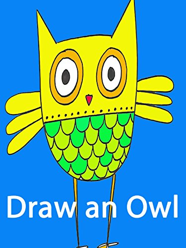How to Draw an Owl Cartoon: Drawing Lesson