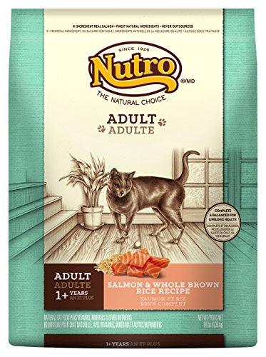 Nutro Adult Cat Salmon & Whole Brown Rice Recipe