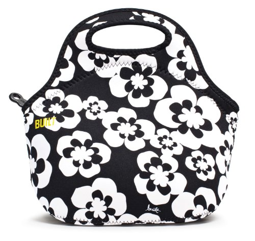 BUILT Neoprene Gourmet Getaway Lunch Tote, Summer Bloom