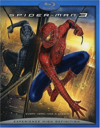 Cover art for  Spider-Man 3 [Blu-ray]