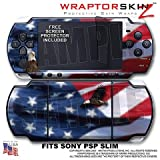 Thumbnail image for Ole Glory WraptorSkinz Skin and Screen Protector Kit fits Sony PSP Slim (PSP 2000)