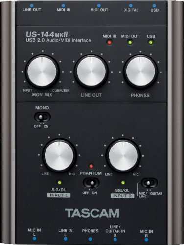 Tascam US-144MKII USB Audio Interface sale online | recording audio