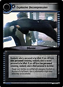 Star Trek Ccg 2e Se Second Edition Explosive Decompression 1r26