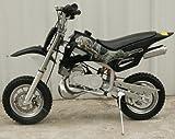 DB49A BLACK 49CC 50CC 2-STROKE GAS MOTOR MINI DIRT PIT BIKE