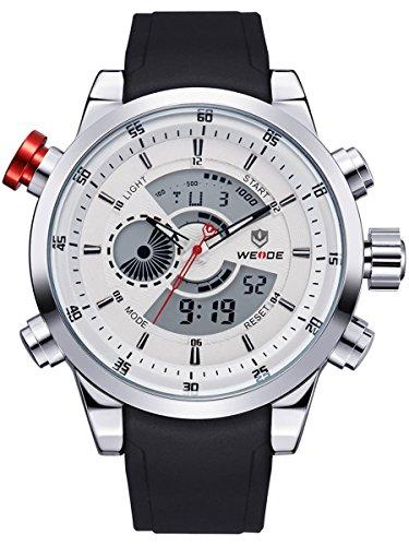 alienwork-dualtime-reloj-digital-analogico-cronografo-lcd-multi-funcion-poliuretano-blanco-negro-osw