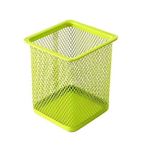 EKIMI Pen Holder Makeup Brush Vase Brush pot Pen Holder Stationery Storage (Green)