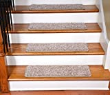 Dean Premium Stair Gripper Tape Free Non-Slip Pet Friendly DIY Carpet Stair Treads 30