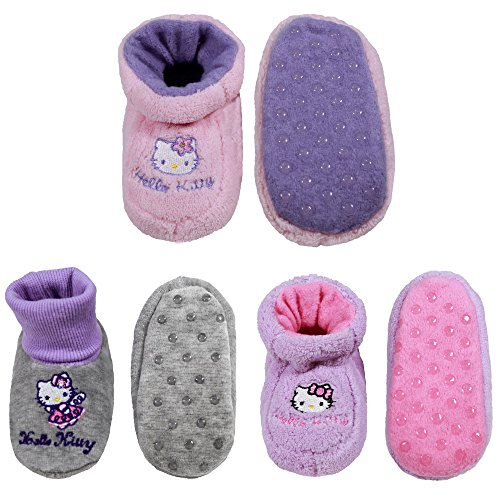 Infants/Toddler Soft Warm Cozy Fuzzy Slippers Non-Slip Lined Socks/Shoes - A06