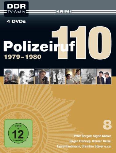 Polizeiruf 110 Box 8: 1979-1980 (DDR TV-Archiv) [4 DVDs]