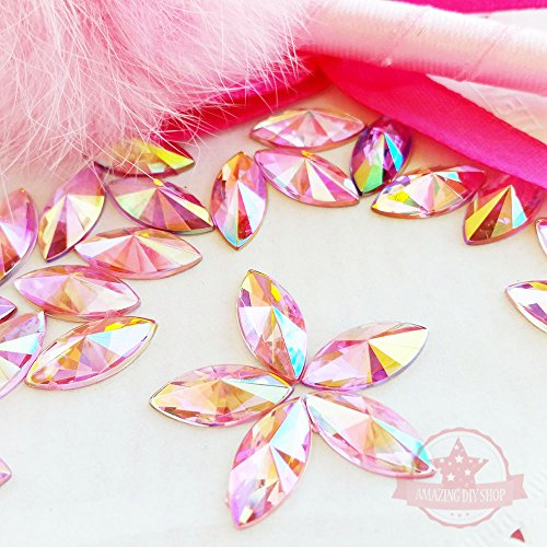 150-pcs-6x14mm-marquise-light-pink-ab-acrylic-special-effect-rhinestones-ship-with-free-gift-from-gr