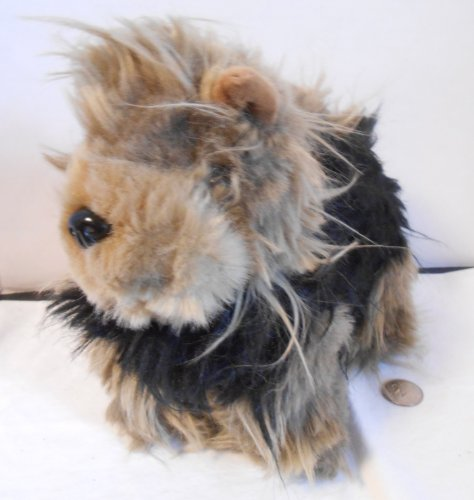 "Yorkie Plush Yorkshire Terrier Plush 11"" tall x 8"" long"