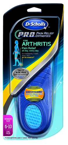 Great Deal! Dr. Scholl's Arthritis Pain Relief Orthotics (Women's Sizes 6-10) 1-Pair
