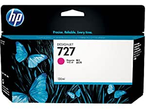 HP HEWB3P20A 727 Ink Cartridge, Magenta Standard Yield