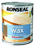 Ronseal Interior Wax Matt 750ml Rustic Pine