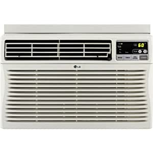 LG LW1812ERS 18,000 BTU Window-Mounted Air Conditioner with Remote Control (230 volts)
