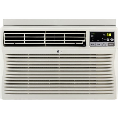 New LG LW1812ERS 18,000 BTU Window-Mounted Air Conditioner with Remote Control (230 volts)
