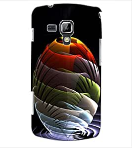 ColourCraft Colourful Beautiful Image Design Back Case Cover for SAMSUNG GALAXY S DUOS 2 S7582
