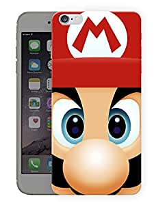 """Humor Gang Kid Game Cartoon Zoom Face Printed Designer Mobile Back Cover For """"Apple Iphone 6 PLUS - 6S PLUS"""" (3D, Matte, Premium Quality Snap On Case)"""
