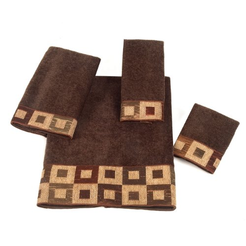 Avanti Precision 4-Piece Towel Set, Mocha
