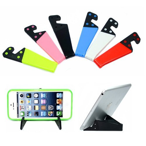 rubber coated folding mobile stand , feye mobile stand