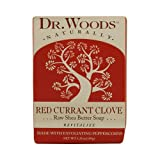 Dr. Woods Bar Soap Red Currant Clove 5.25 Oz