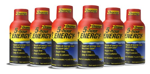 5 Hour Energy Drink Energy Shot 58ml - Orange Flavour - Pack of 12