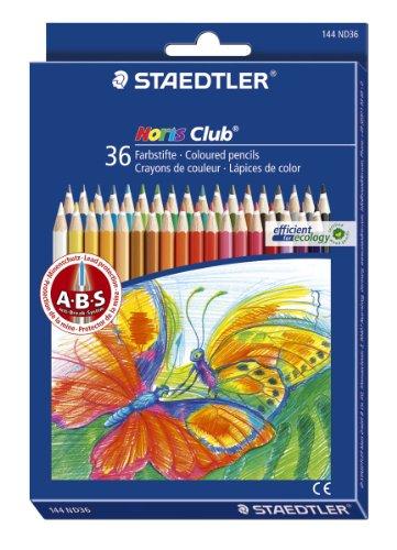 Staedtler 144 ND36  Noris Club Farbstiftetui  36 Stück
