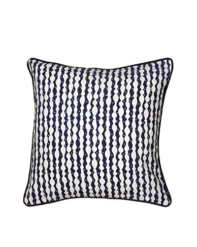 Rizzy Home Navy Diana Throw Pillow