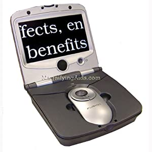Fusion 7 Inch LCD Portable Video Magnifier
