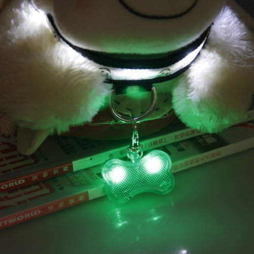 Lesypet Led Custom Signature Tags For Dogs Cats Safety
