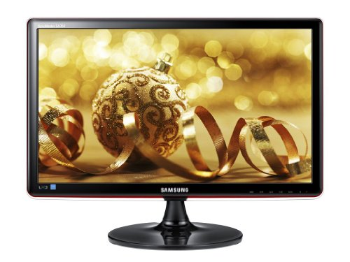 Samsung S23A350H 23 inch Widescreen LED monitor (MEGA DCR, 1920 x 1080 Full HD, 2ms, HDMI/VGA) - Gloss Black