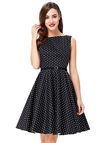 A-Line 60s Vintage Party Dresses for Women 2X F-3